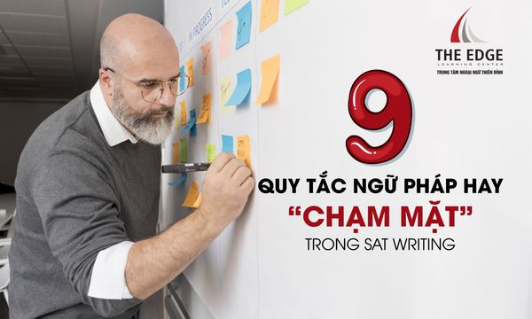 ngữ pháp thường gặp trong writing - The Edge Learning Center