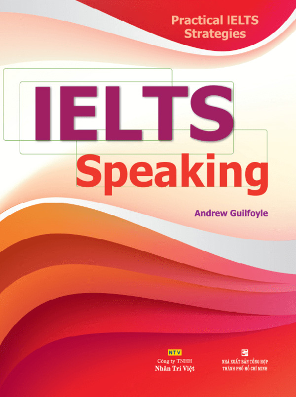 sách IELTS speaking - The Edge Learning Center