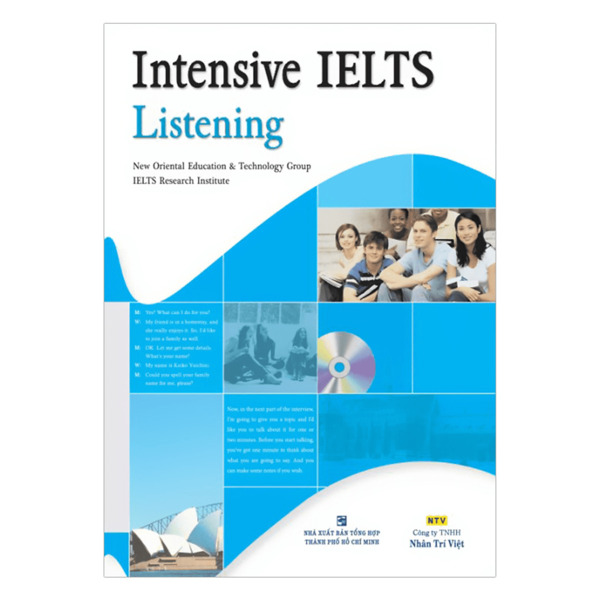 sách luyện thi ielts listening - The Edge Learning Center