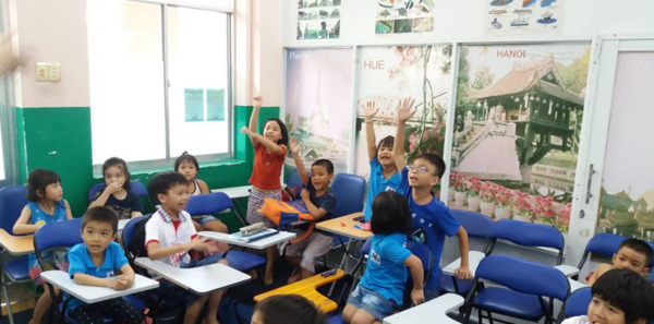 trung tâm học tiếng anh cho trẻ em - The Edge Learning Center