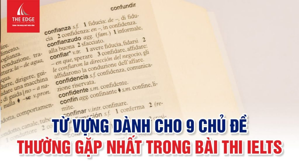 từ vựng IELTS writing theo chủ đề - The Edge Learning Center