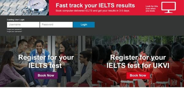 đăng ký thi ielts online - The Edge Learning Center