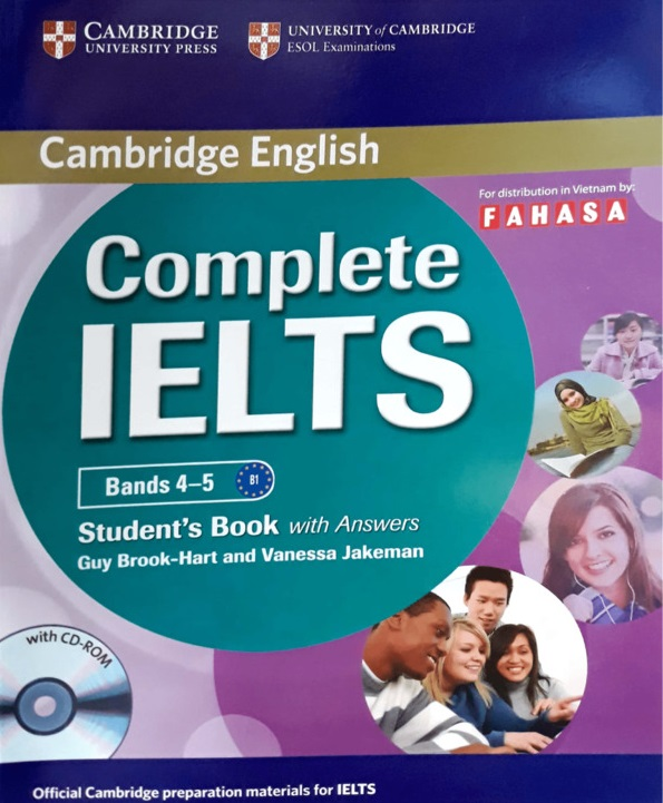 sách complete ielts - The Edge Learning Center
