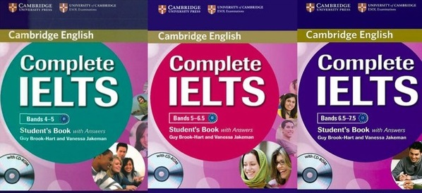 sách luyện thi ielts hay nhất - The Edge Learning Center
